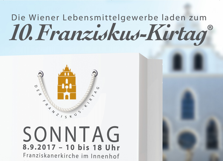 Franziskus Kirtag der Wiener Lebensmittelgewerbe