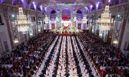 119. Wiener Zuckerbäckerball am 16. Jänner 2020 in der Wiener Hofburg